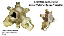 BOOMJET BOOMLESS NOZZLE FLAT SPRAYER PROJECTION