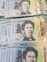 AUSTRALIA NEW $10 2017 AA17 FIRST PREFIX Very Low Serial AA 1705 UNC Banknote