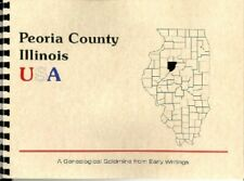 "IL ""The History of Peoria Illinois"" by C. Ballance New RP plus WPA Guide excerpt"