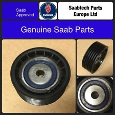 GENUINE SAAB 900, 9-3, 9-5, PULLEY IDLER GROOVED, B2*4, BRAND NEW, 4356127
