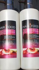 2 CLAIROL HAIR FOOD Moisture Conditioner Infused With White Nectarine & Pear