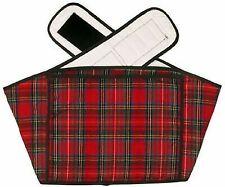 Hotties Back Wrap Red Tartan Microwave Warmer Heat Pad Pain & Stress Relief