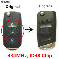 Upgraded Remote Key for VW/VOLKSWAGEN 5K0 837 202 AD 5FA 010 180-02  434MHZ