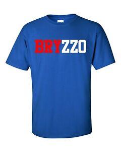 Kris Bryant Anthony Rizzo BRYZZO Chicago Cubs T Shirt Brand New