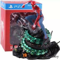 "7.5"" Statue Avengers Infinity War Spider-Man PVC Action Figure Collectible Model"