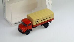 MERCEDES-BENZ L911 Red/Beige - 1/87 - SCHUCO