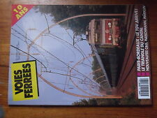 $$µ Revue Voies Ferrees N°61 Paris-Bordeaux TGV  Triangle du Cantal  2D2 5000