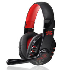 Wireless Bluetooth Pro Hifi Headband Stereo Gaming Headphone Headset Microphone
