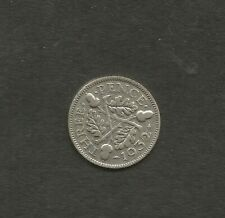 1932 3d George V Coin. used in Ireland & England , 50 % Silver