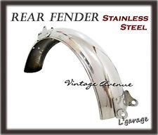[LG2096] HONDA CS50 S50 SS50 CL50 CL70 REAR FENDER *STAINLESS STEEL* [V]
