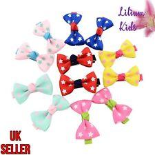 Mini Hair Bows - Star Design