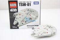 Takara Tomy Tomica Disney Star Wars TSW-01 Millennium Falcon Diecast Toy Car