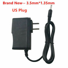 5V 2A AC Adapter to DC 5-volt 2000mA Power Supply Charger Cord 3.5/1.35mm plug