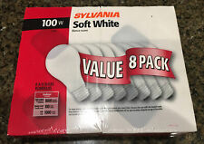 Sylvania 100W Double Life Soft White Light Bulbs 8-Pack - Very hard to find
