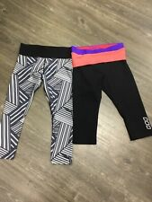 2X LORNA JANE WORK OUT PANT SIZE XS IN EX-COND