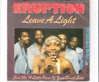 ERUPTION - Leave a light