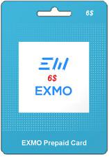 EX-CODE | KOD EXMO |  VOUCHER | USD 6$ | TOP SPRZEDAWCA | SZYBKO !