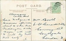 Mrs A C Booth. 6 St Leonards Villas, Conway Road, Southgate, London    (QR1590)