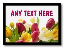 Tulip Personalizado De Mesa De Comedor Individuales