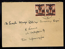 1941 Poland Germany GG cover Local use