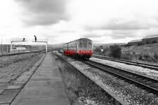 PHOTO  1985 ROSE GROVE RAILWAY STATION LANCASHIRE THERE WAS A TIME WHEN ROSE GRO