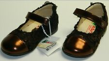 Naturino Girl's Infant Toddler Mary Jane Dress Shoes Bronze Brown 22 EU 6 M US