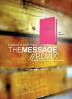 Message Remix : The Bible In Contemporary Language/Hypercolor Pink, Paperback...