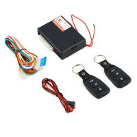 Universal Car Remote Central Kit Door Lock Vehicle Keyless Entry System FTNEW