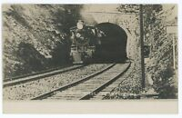 RPPC P&R READING RAILROAD Tunnel PERKASIE PA Bucks County Real Photo Postcard