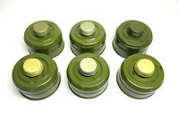 Lot of 6 Soviet Russian USSR gas mask Filters cartridge replacement canister NEW