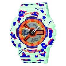 Casio Baby-G Damenuhr Quarz Chronograph Lime 24-Stunden Alarme BA-110FL-3AER