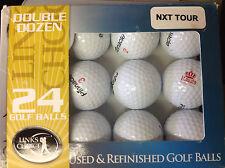 Used & Refinished Golf Balls - Double Dozen