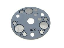 Aluminum Heat Sink Breakout 1Watt*3 Power SMD LED White 35mm - Pack of 5