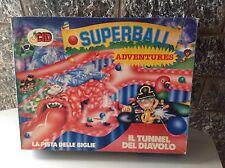 Vintage#SUPERBALL ADVENTURE LA PISTA TUNNEL DEL DIAVOLO Lucciola Cid NIB