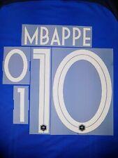 FLOCAGE OFFICIEL ÉQUIPE DE FRANCE HOME 2019 (2 ÉTOILES) - MBAPPE #10 (MONBLASON)