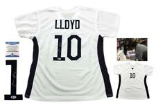 Carli Lloyd Autographed SIGNED Jersey - Beckett Authentic - Custom