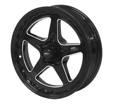 "Street Pro ll Convo Wheel Black 17x4.5"" 5x4.75 Chev Bolt Circle 1.75"" Back Space"