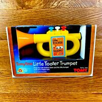 Very Rare Vintage 1983 Tomy Little Tooter Trumpet Brand New Boxed Number 1038