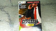 Football Manager 2016 Limited Edition (PC DVD) BRAND NEW SEALED