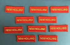 10 Lot Rare Vintage Ford New Holland Tractors Farmer Hat Jacket Patches Crests B