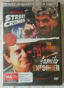The Death Collector DVD AKA: Family Enforcer + STREET CRIMES (1992) MOVIE DOUBLE
