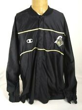 Champion Purdue Boilermakers Basketball Team Issued Warmup Jacket Mens XL Black