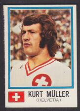 Panini-MUNCHEN 74 Copa del Mundo - # 382 Kurt Muller-Helvetia