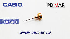 CASIO CORONA/ WATCH CROWN, PARA MODELOS. AW-302. -GOLD TONE-