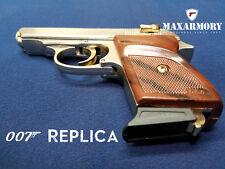 Top PPK 007 ES EKOL Nickel w/ Gold - Movie Replica Training Prop Gun