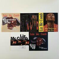 LIZ Mc COMB ♦ Lot 5 x French CD Single ♦ PROMO, EXCLUSIVE TRACKS & RARE LIVE