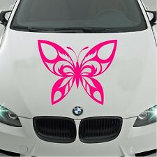 LARGE Car Bonnet Tribal Butterfly Car Vinyl Graphic Sticker Side Panel Decal 44