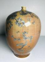 Vintage Studio Art Pottery Vase Weedpot CAMERON COVERT Zinc Crystalline SIGNED