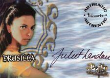 Buffy the Vampire Slayer JULIET LANDAU A13 Auto Card a