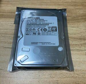 """NEW Toshiba 500GB MQ01ABD050 5400RPM SATA 3Gb/s 2.5"""" Laptop HDD Hard Disk Drive"""